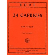 RODE P. 24 CAPRICES VIOLON