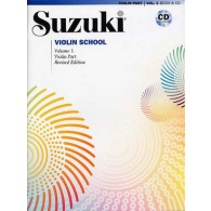 SUZUKI VIOLIN SCHOOL VOL 1 + CD