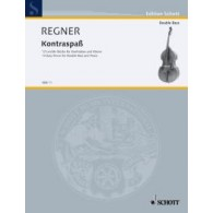 REGNER H. KONTRA-SPASS 12 EASY PIECES CONTREBASSE