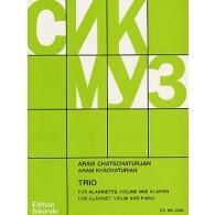 KHATCHATURIAN A. TRIO EN UT MINEUR