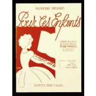 TANSMAN A. POUR LES ENFANTS VOL 1 PIANO