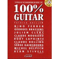 GUILLEM P. 100% GUITAR VOL 1