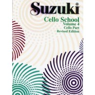SUZUKI CELLO SCHOOL VOL 4