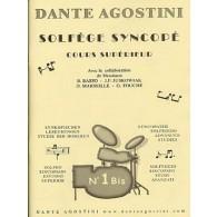 AGOSTINI D. SOLFEGE SYNCOPE VOL 1 BIS