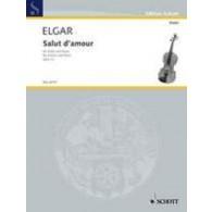 ELGAR E. SALUT D'AMOUR OP 12/3 VIOLON