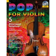 POP FOR VIOLIN 5 BITTER SWEET SYMPHONY VIOLON