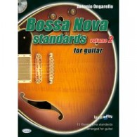 ONGARELLO A. BOSSA NOVA STANDARDS VOL 2 GUITARE