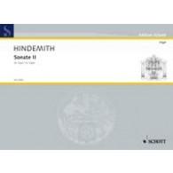 HINDEMITH P. SONATE II ORGUE