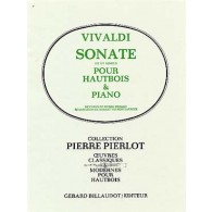 VIVALDI A. SONATE UT MINEUR HAUTBOIS