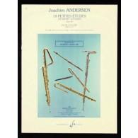 ANDERSEN J. 18 PETITES ETUDES OP 41 FLUTE