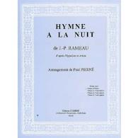 RAMEAU J.P. HYMNE A LA NUIT CHANT