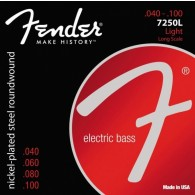 JEU DE CORDES BASSE ELECTRIQUE FENDER 7250L LIGHT LONG SCALE 040/100