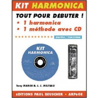 MILTEAU J.J./MARCH T. KIT HARMONICA BLUES