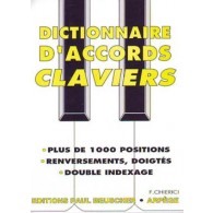CHIERICI F. DICTIONNAIRE D'ACCORDS CLAVIERS