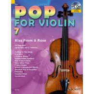 POP FOR VIOLIN 7 KISS FROM A ROSE VIOLON