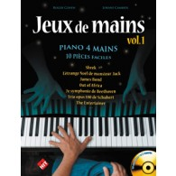 COHEN/CAMBIER JEUX DE MAINS VOL 1 PIANO 4 MAINS