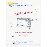 DELERUYELLE T. APRES LA PLUIE XYLOPHONE