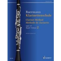 BAERMANN C. METHODE DE CLARINETTE  OP 63 VOL 2 CLARINETTE