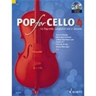 POP FOR CELLO VOL 4
