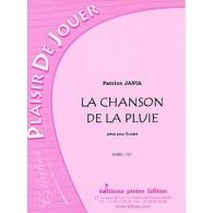 JANIA P. LA CHANSON DE LA PLUIE GUITARE