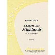 CARLIN A. CHANSONS DES HIGHLANDS COR