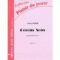 PONDE J. PERCUS SON PERCUSSIONS