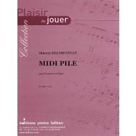 DELERUYELLE T. MIDI PILE XYLOPHONE
