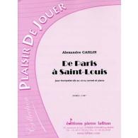 CARLIN A. DE PARIS A SAINT-LOUIS TROMPETTE OU CORNET