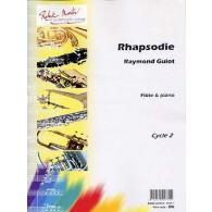 GUIOT R. RHAPSODIE FLUTE