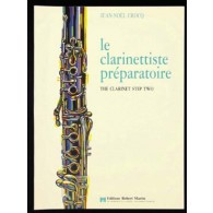 CROCQ J.N. LE CLARINETTISTE PREPARATOIRE
