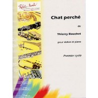 BOUCHET T. CHAT PERCHE VIOLON