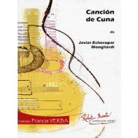 ECHECOPAR MONGILARDI J. CANCION DE CUNA GUITARE