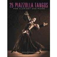 PIAZZOLLA A. 25 PIAZZOLLA TANGOS CLARINETTE