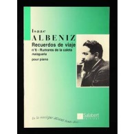 ALBENIZ I. RUMORES DE LA CALETA PIANO
