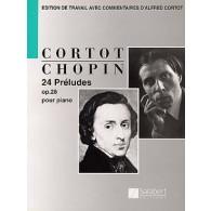 CHOPIN F. PRELUDES OP 28 PIANO