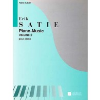 SATIE E. PIANO MUSIC VOL 2