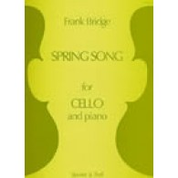 BRIDGE F. SPRING SONG VIOLONCELLE