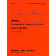 BRAHMS J. SONATE OPUS 120 N°2 ALTO OU CLARINETTE