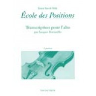VAN DE VELDE E./BORSARELLO J. ECOLE DES POSITIONS 2ME ALTO