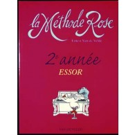 VAN DE VELDE METHODE ROSE VOL 2 ESSOR PIANO