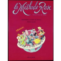 VAN DE VELDE METHODE ROSE AVEC CD PIANO