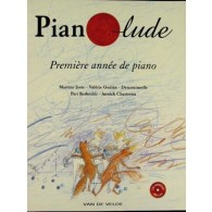 PIANOLUDE VOL 1 AVEC CD