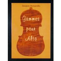 BORSARELLO J. GAMMES POUR ALTO