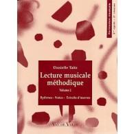 TAITZ D. LECTURE MUSICALE METHODIQUE NIVEAU 2