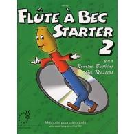 FLUTE A BEC STARTER VOL 2