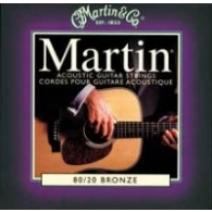 PACK DE 12 JEUX DE CORDES ACOUSTIQUE MARTIN CUSTOM LIGHT 11/52