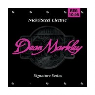 PACK DE 12 JEUX DE CORDES DEAN MARKLEY NICKELSTEEL ELECTRIC REG 10-46
