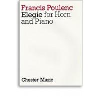 POULENC F. ELEGIE COR PIANO