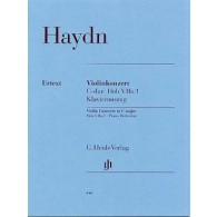 HAYDN J. CONCERTO DO MAJEUR VIOLON