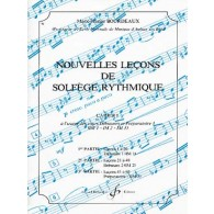 BOURDEAUX M.J. NOUVELLES LECONS DE SOLFEGE RYTHMIQUE VOL 1